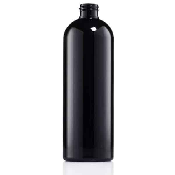 בקבוק 1 ליטר PET שחור